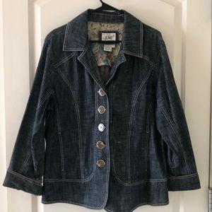 Live-a-little jean blazer